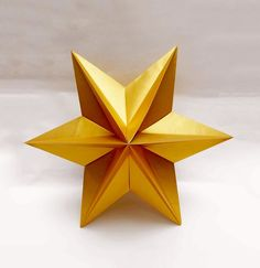 Origami Star  - easy. Ideas for Christmas. Origami  Dominanta Star. Укра...