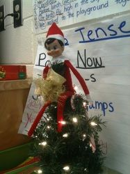 Classroom Elf on a Shelf  -Mrs. Witcher's Busy Bugs Website