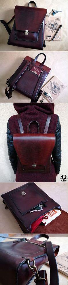 e66e27f7e867 Рюкзак из натуральной кожи Angle - Купить Кожаный рюкзак, кожаный рюкзак  ручной работы, natural