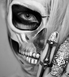 DIANA IONESCU// MAKE-UP ARTIST — Skull Make-up, photo & concept: Diana Ionescu