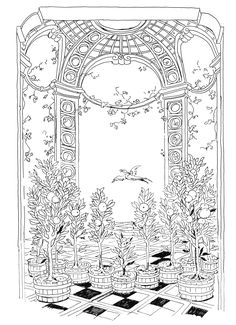 Pippa Rossi Lost Garden Adult Coloring Book Orange by Pippa-Rossi on DeviantArt Garden Coloring Pages, Cute Coloring Pages, Coloring Books, Toddler Coloring Book, Free Adult Coloring, Lost Garden, Johanna Basford Coloring Book, Colorful Garden, Pattern Drawing
