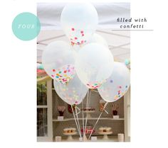 Favorite Party Pins: Balloons