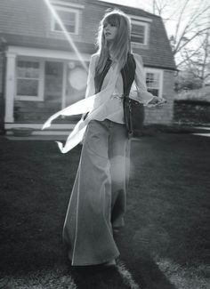 visual optimism; fashion editorials, shows, campaigns & more!: free love: julia stegner by benny horne for vogue australia march 2015