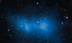 El Gordo Galaxy Cluster Even Bigger Than Thought - The Hubble Space Telescope has a new calculation for the huge El Gordo galaxy cluster: 3 million billion times the mass of the Sun. This is even 43 per cent more massive than past estimates that examined the complex in X-rays. NASA, ESO, UC Davis.