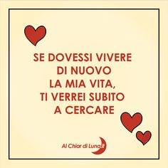 Italian Love Quotes, Secret Lovers, Love Time, Small Quotes, I Miss You, Thoughts, Motivation, Feelings, Words