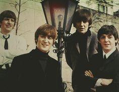 Richard Starkey, John Lennon, George Harrison, and Paul McCartney