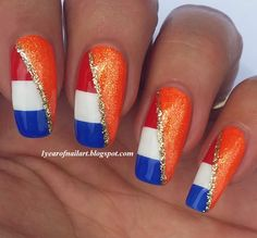 #prom World Cup nails #Holland