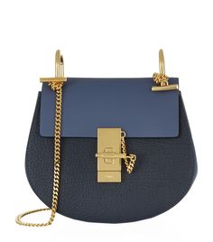 Chloé Mini Drew Bicolour Shoulder Bag | Harrods