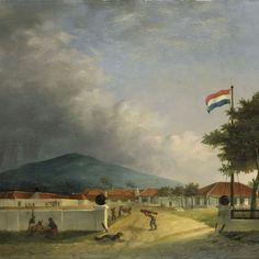 De suikerfabriek 'Kedawong' bij Pasoeroean op Java, H.Th. Hesselaar, 1849 - Rijksmuseum