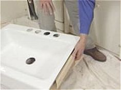 how to remove an old kitchen counter and sink | countertop, sinks
