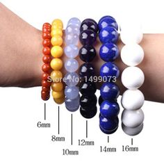 Cheap Beads, Buy Quality Jewelry & Accessories Directly from China Smooth Round Beads Ball Light Pink Jades Stone Beads For DIY Necklace Bracelets Jewelry Making 15 Gemstone Bracelets, Gemstone Beads, Bead Size Chart, Beaded Jewelry, Handmade Jewelry, Jewellery, Do It Yourself Jewelry, Jade Beads, Bijoux Diy