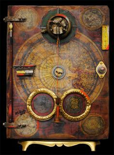 altering book covers encaustic - Google Search