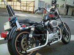 """【愛のクリック】更新中♪ - """"SPORTSTER""""な日常... Sportster Chopper, Chopper Motorcycle, Amf Harley, Iron 883, Ride Or Die, Lifted Trucks, Choppers, Custom Bikes, Cool Bikes"""