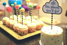 Dr. Seuss Birthday Party - cute decor and food ideas!