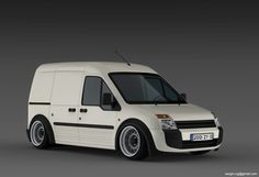 Ford Transit Connect Slammed