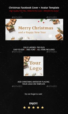 Christmas Facebook Cover + Profile - Facebook Timeline Covers Social Media