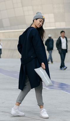 koreanmodel:     Street style: Kwon Ji Ya at Seoul... A Fashion Tumblr full of Street Wear, Models, Trends & the lates