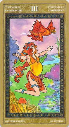 The Empress - Yoga Tarot