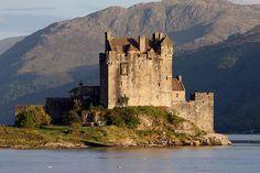 Eilean Donan Castle in Loch Duich, Scotland.