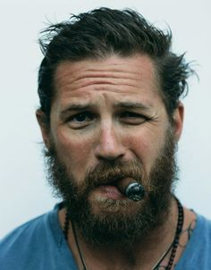 Tom Hardy with a beard. Yep enough said