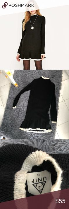 UNIF mistral sweater dress XS UNIF mistral sweater dress XS UNIF Dresses