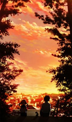 Shigatsu wa kimi no uso, Your Lie in April, Kousei, Nagi  / el atardecer mas profundo de mi vida