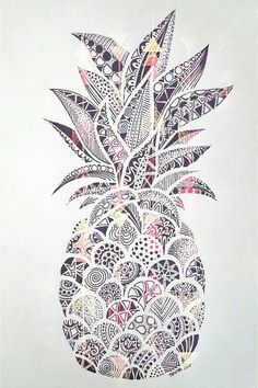 Coloriage Emoji Ananas.25 Meilleures Images Du Tableau Ananas Dessin Cartoon Pineapple