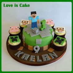 how to make minecraft cake - Google pretraživanje