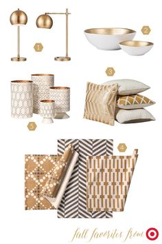Target Threshold Collection for Fall 2014. These patterns work back perfectly in my family room.