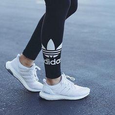 adidas triple white ultra boost women #FairfieldGrantsWishes