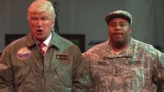 Alec Baldwin's Donald Trump tries to save America from aliens in 'SNL' cold open