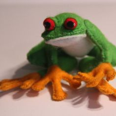 Filz Frosch, Rotaugenlaubfrosch