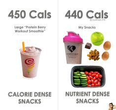 How to snack smart. Healthy snacks. Volume eating!