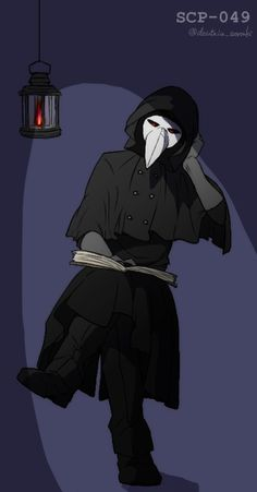 Plauge Doctor, Scp Plague Doctor, Scp 49, Yoda Funny, Emo, Epic Art, Awesome Art, Fiction Movies, Shinigami