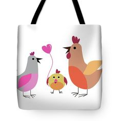 https://fineartamerica.com/featured/family-of-hens-marina-usmanskaya.html#MarinausmanskayaFineArtDigitalart#Family#ArtForHome#ToteBagsFineArt
