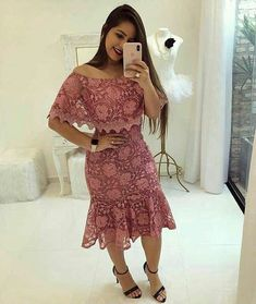 African Fashion Dresses, African Dress, Ankara Dress, Dress Skirt, Trend Fashion, Fashion Outfits, Fashion Essay, Lace Dress Styles, Lace Sheath Dress