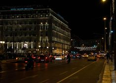 Christmas : A Festive walk in Athens Athens By Night, Athens Greece, Greeks, Dream Life, Festive, Walking, Street View, Wallpapers, Country