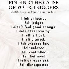 Finding the cause of your triggers. Emotional Abuse, Emotional Intelligence, Bipolar Triggers, Bipolar Help, Bipolar Awareness, Bipolar Quotes, Living With Bipolar Disorder, Antisocial Personality