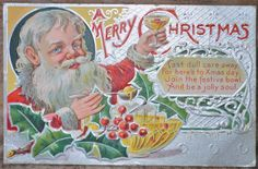 """Join the festive bowl, And be a jolly soul."""". California, December 24, 1909. Auctiva. FREE Auctiva Image Hosting. Save time & money with."""