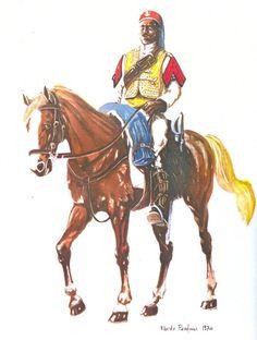 Regio Esercito - Truppe Coloniali - BULUKBASCI DEL V SQUADRONE DELLA TRIPOLITANIA –(1923, 1932)