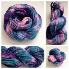 LOVELY LEOPARD ~ DK weight dyed on my 100% USA made merino. Only 4 available…