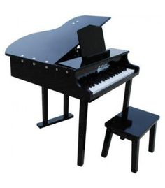 The 37 Key Concert Grand is an exact replicate of a true concert grand piano. With a patented learning system, the Schoenhut 37 Key Concert Grand fits all. Grand And Toy, 88 Key Piano, Kids Piano, Baby Grand Pianos, Piano Bench, Kalimba, Cool Toys, Musical Instruments, Musicals