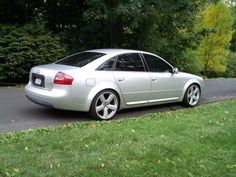 My 2000 Audi A6. H & R Lowering springs and sway bars.
