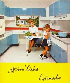 Vintage kitchen ad, 1964
