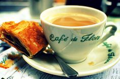 Cafe de Flore, Paris.