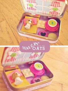 Haulin' with the Oats: Altoid mini take-a-long doll homes -- I'll make my kids' mini huskies a home like that