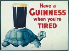 Guinness beer poster vintage poster printable by printableOldies Posters Vintage, Vintage Advertising Posters, Advertising Signs, Vintage Advertisements, Vintage Ads, Vintage Travel, Vintage Style, Posters Uk, Retro Ads