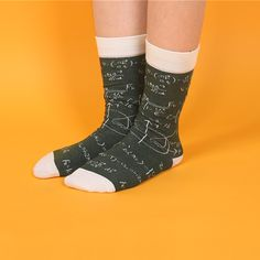 In school there was always that one class that kicked your butt. For some Math was a haven of paradise, for others it's a hell comprised of numbers. Whether this is heaven or hell wear it on your feet