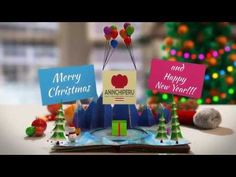 Buy Christmas Pop-Up Book by The_Yoshivara on VideoHive. Finally I've finished my new Christmas project. It's great for holiday greetings Very easy to customise, jus. Happy Merry Christmas, Christmas Pops, Merry Happy, Christmas 2014, Happy 2015, Happy New Year 2015, Year 2016, Merry New Year, Libros Pop-up