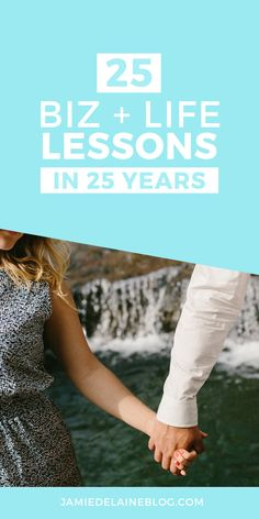 25 Business and Life Lessons over 25 Years by Jamie Delaine Watson: Read here -- http://jamiedelaineblog.com/post/25268/25-life-lessons-from-25-years/